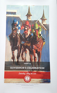 2016 Kentucky Derby Poster