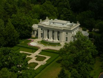 Kentucky Governor's Mansion aerial view