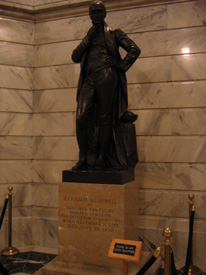 Statue of McDowell