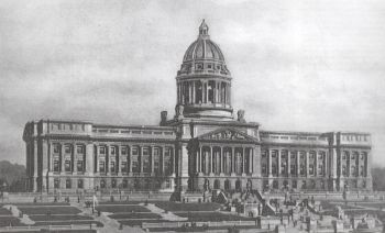 Historic image of the Kentucky State Capitol
