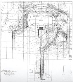 Site plan for the New State Capitol
